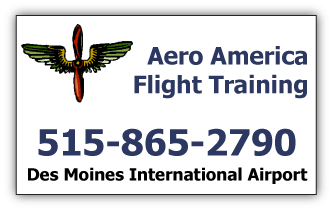 Aero America Flight Training - Des Moines, Iowa; Ankeny, Iowa; Indianola, Iowa